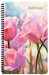 Large Address Book Floral 5.5 x 8.5