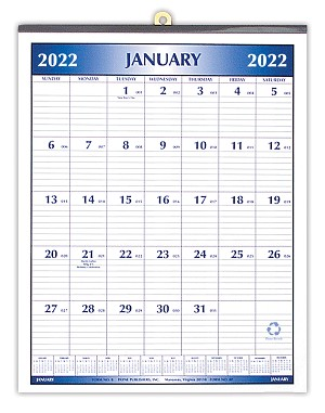 2020 Magnetized Calendar 8.5 x 11