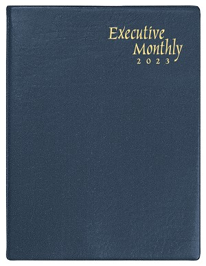 2021 Continental Deluxe Executive Monthly Planner