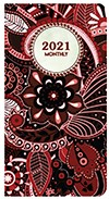2021 Deco Monthly Pocket Planner 3.5 x 6.5