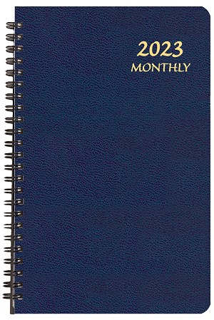 2021 Large Print Monthly Planner 5.5 x 8.5
