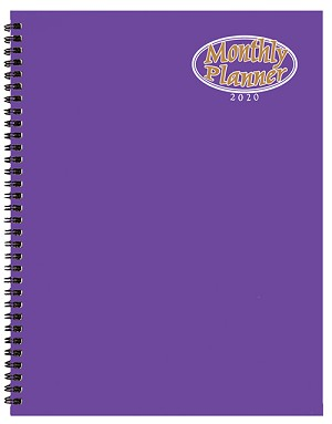 2021 TechnoColor Monthly Planner 8.5 x 11