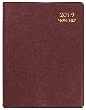 2019 Continental Monthly Planner 8.5 x 11