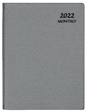 2021 Frosted Monthly Planner 8.5 x 11
