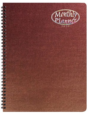 2020 Illusion Monthly Planner 8.5 x 11