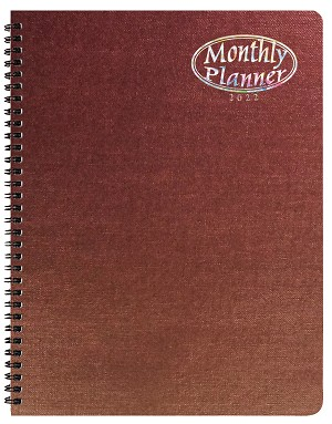 2021 Illusion Monthly Planner 8.5 x 11