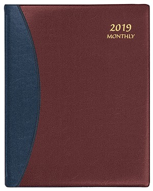 2019 Carriage Monthly Planner 8.5 x 11