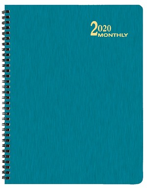 2020 Shimmer Monthly Planner 8.5 x 11