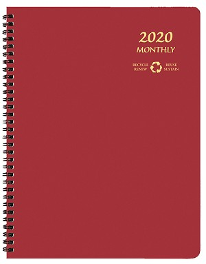 2020 EcoMaxx Monthly Planner 8.5 x 11