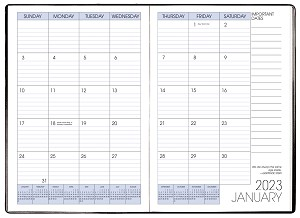 2020 Refill for MB-63 MB-65 and MB-67 Monthly Planner 7 x 10