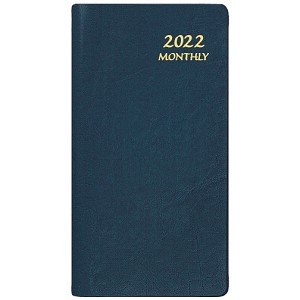 2021 Continental Upright Monthly Pocket Planner 3.5 x 6.5