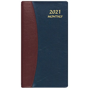 2021 Carriage Upright Monthly Pocket Planner 3.5 x 6.5
