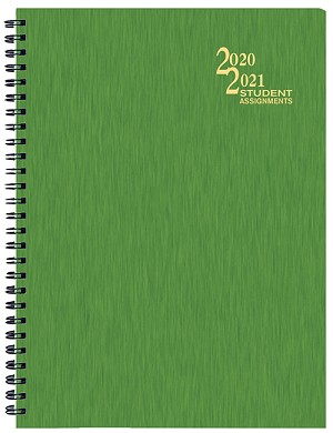 2018-2019 Shimmer Student Assignement Planner 7 x 9.5