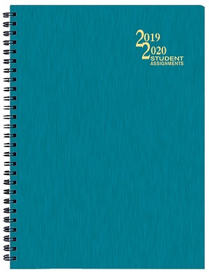 2019-2020 Shimmer Student Assignement Planner 7 x 9.5