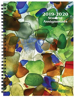 2019-2020 Sea Glass Student Assignment Planner 7 x 9.5
