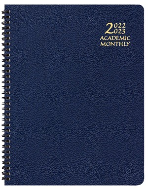 2020-2021 Academic Monthly Planner Skivertex 8.5 x 11