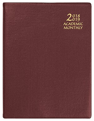 2018-2019 Academic Monthly Planner Continental 8.5 x 11