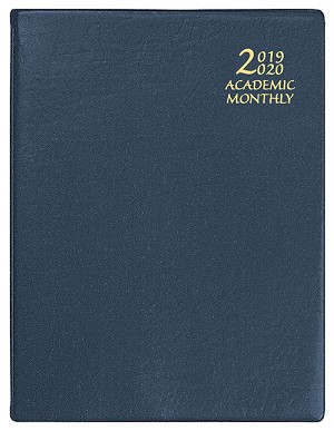 2019-2020 Academic Monthly Planner Continental 8.5 x 11