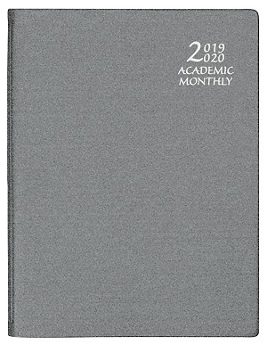 2019-2020 Academic Monthly Planner Frosted 8.5 x 11