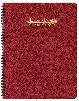 2019-2020 Academic Monthly Planner Cobblestone 8.5 x 11