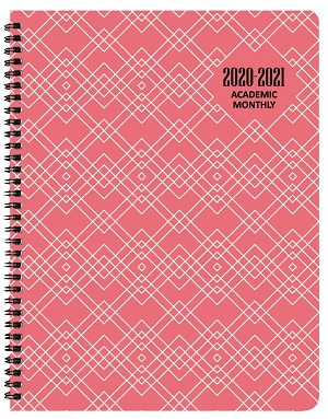 2020-2021 Geotones Academic Monthly Appointment Planner 8.5 x 11