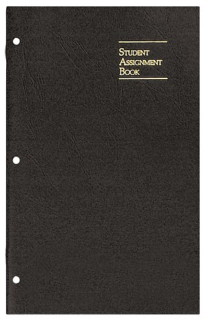 Undated Academic Weekly Assignment Planner Skivertex 7 x 11