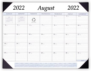 2019-2020 Refill for STP-17 Academic Desk Pad Calendar 17 x 22