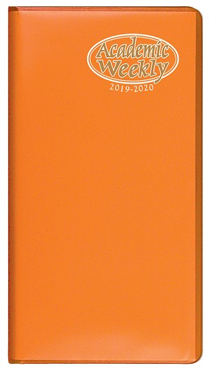 2019-2020 Academic Weekly Pocket Planner TechnoColor 3.5 x 6.5