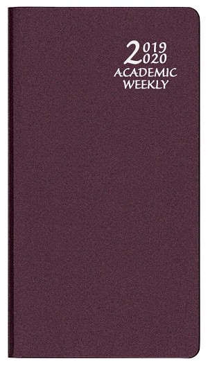 2018-2019 Academic Weekly Pocket Planner Frosted 3.5 x 6.5