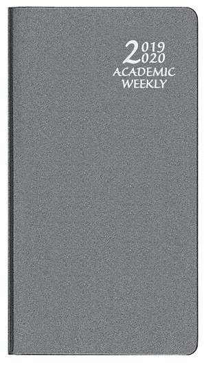 2019-2020 Academic Weekly Pocket Planner Frosted 3.5 x 6.5