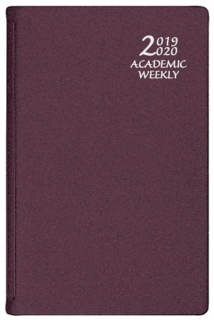 2018-2019 Academic Weekly Planner Frosted 5.5x 8.5