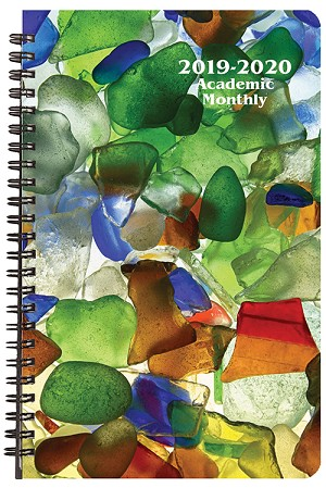 2019-2020 Sea Glass Academic Weekly Appointment Planner 5.5 x 8.5