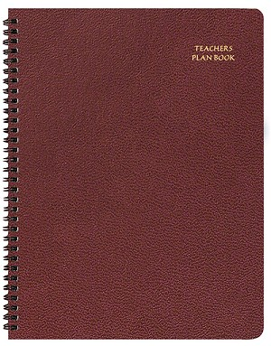 Teacher Planner Skivertex 8.5 x 11