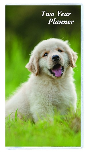 2019-2020 Puppy Series Two Year Pocket Planner 3.5 x 6.5