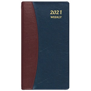 2021 Carriage Weekly Pocket Planner 3.5 x 6.5