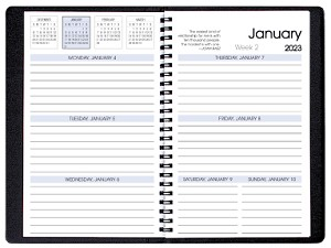 2019 Refill for WB-23 WB-25 and WB-27 Weekly Planners 5.5 x 8.5