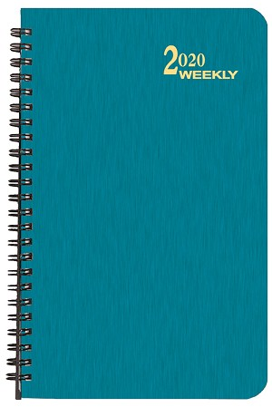 2020 Shimmer Weekly Planner 5.5 x 8.5