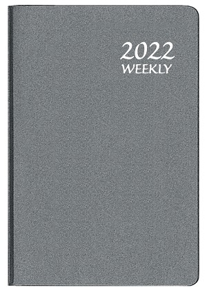 2021 Frosted Mini Weekly Planner 2.75 x 4.125